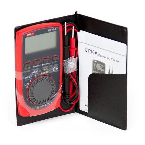 Кишеньковий цифровий мультиметр UNI-T UTM 110A (UT10A) Прев'ю 1