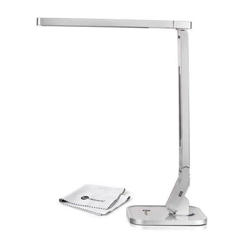 Настольная бестеневая лампа TaoTronics TT-DL07, серебристая, EU Превью 1