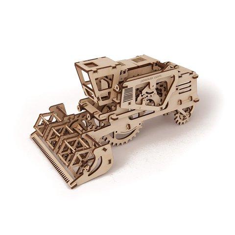 Механический 3D-пазл UGEARS Комбайн - Просмотр 2