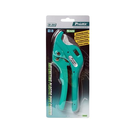 Ratchet Plastic Pipe Cutter Pro'sKit SR-366 - Preview 2